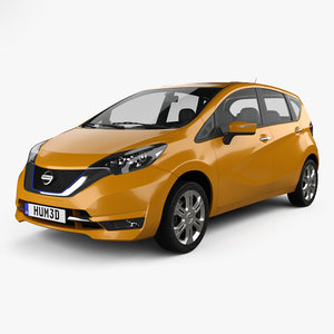 3D nissan note jp model