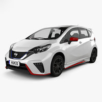 3D model nissan note nismo