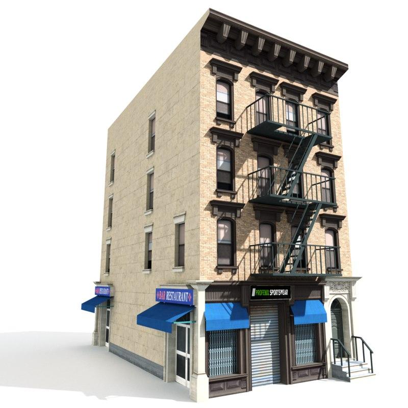 3D city building 1