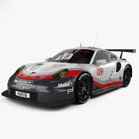 Porsche 911 Carrera (991) RSR 2017