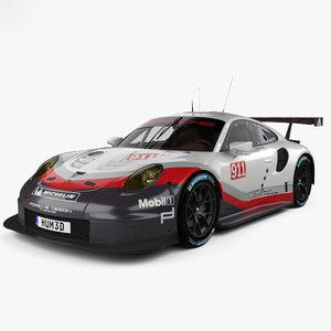 porsche 911 carrera 3D model
