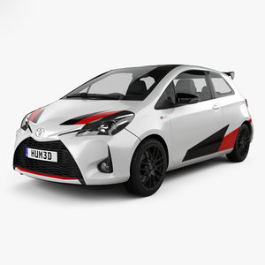 toyota yaris grmn 3D model