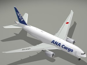 3D boeing nippon airways cargo