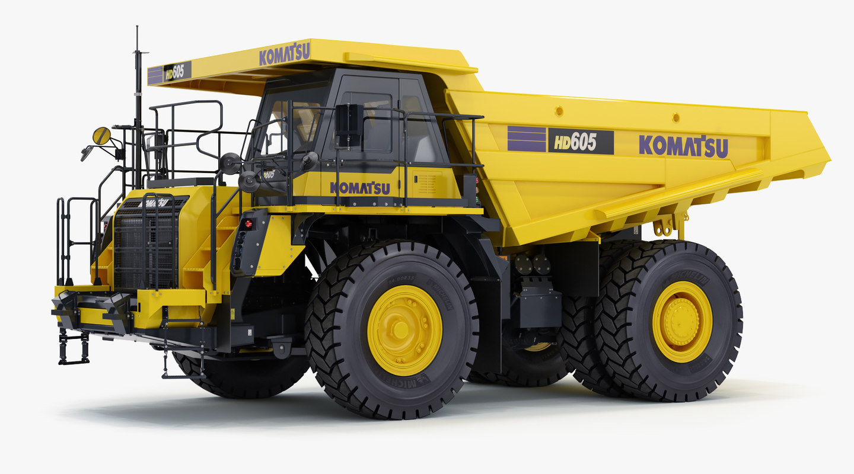 Komatsu Hd605 8 Rigid Dump Truck