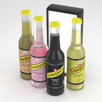 3D beverage bottles