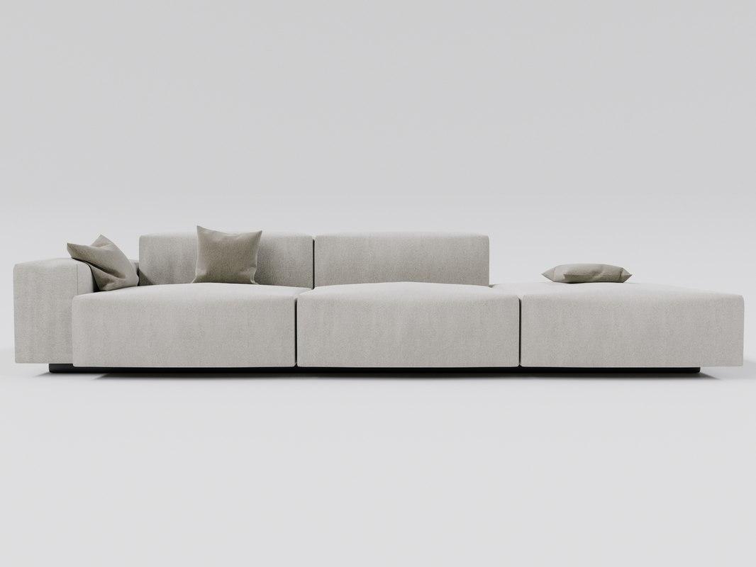 soft modular sofa vitra model