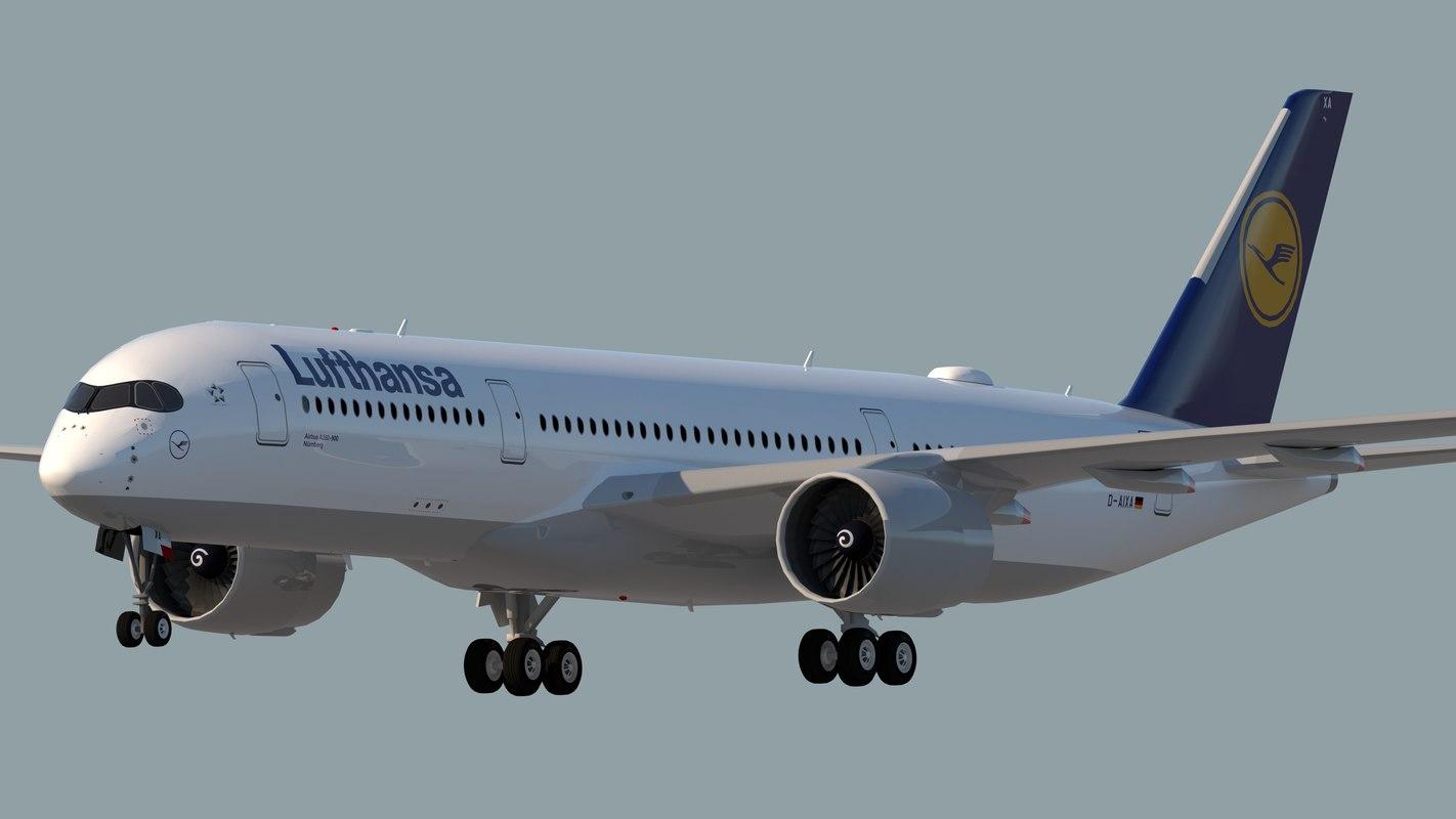 lufthansa airlines model