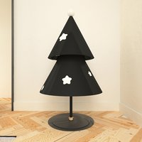 minimalist christmas tree 3D model