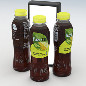 ice tea beverage 3D
