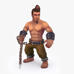 3D rigged character type