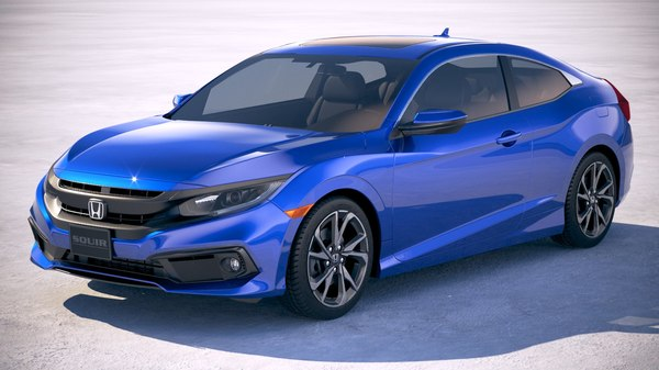 honda civic coupe 3D