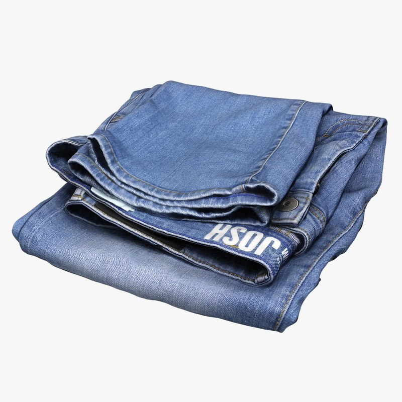 3D tom jeans model