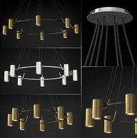 3D chandelier champeaux model