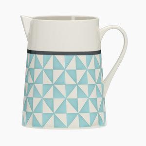 adid porcelain milk jug 3D