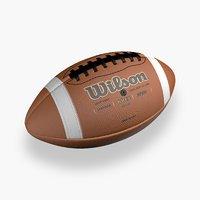 football ball 3D model