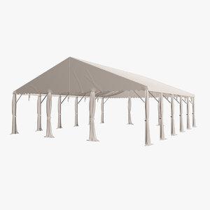3D event tent v1 model