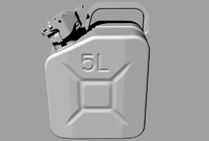 3D jerrycan gost 5105 model
