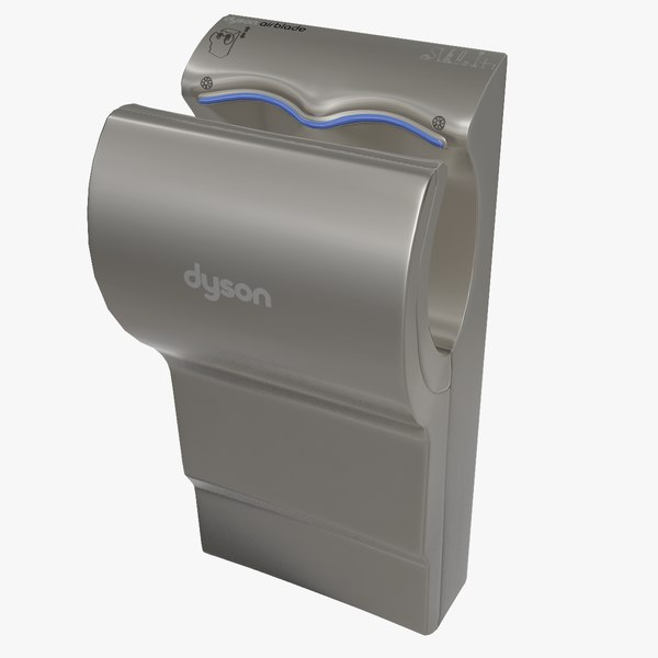 3D dyson airblade hand dryer