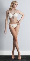 3D bikini rigged girl
