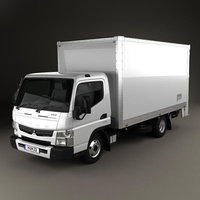 Mitsubishi Fuso Canter 515 Wide Single Cab Pantech Truck 2016