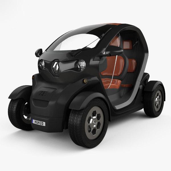 3D renault twizy ze model