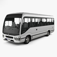 toyota coaster deluxe 3D model