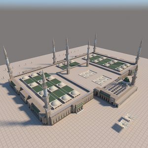 masjid nabawi 3D model