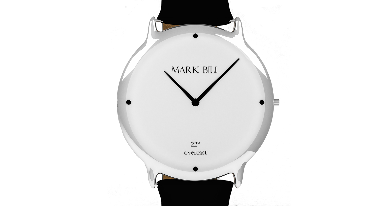 3D simple leather strap model