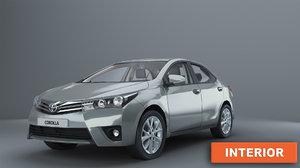 car 2014 3D