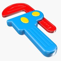 3D toy caliper model