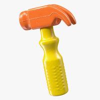 3D toy hammer model