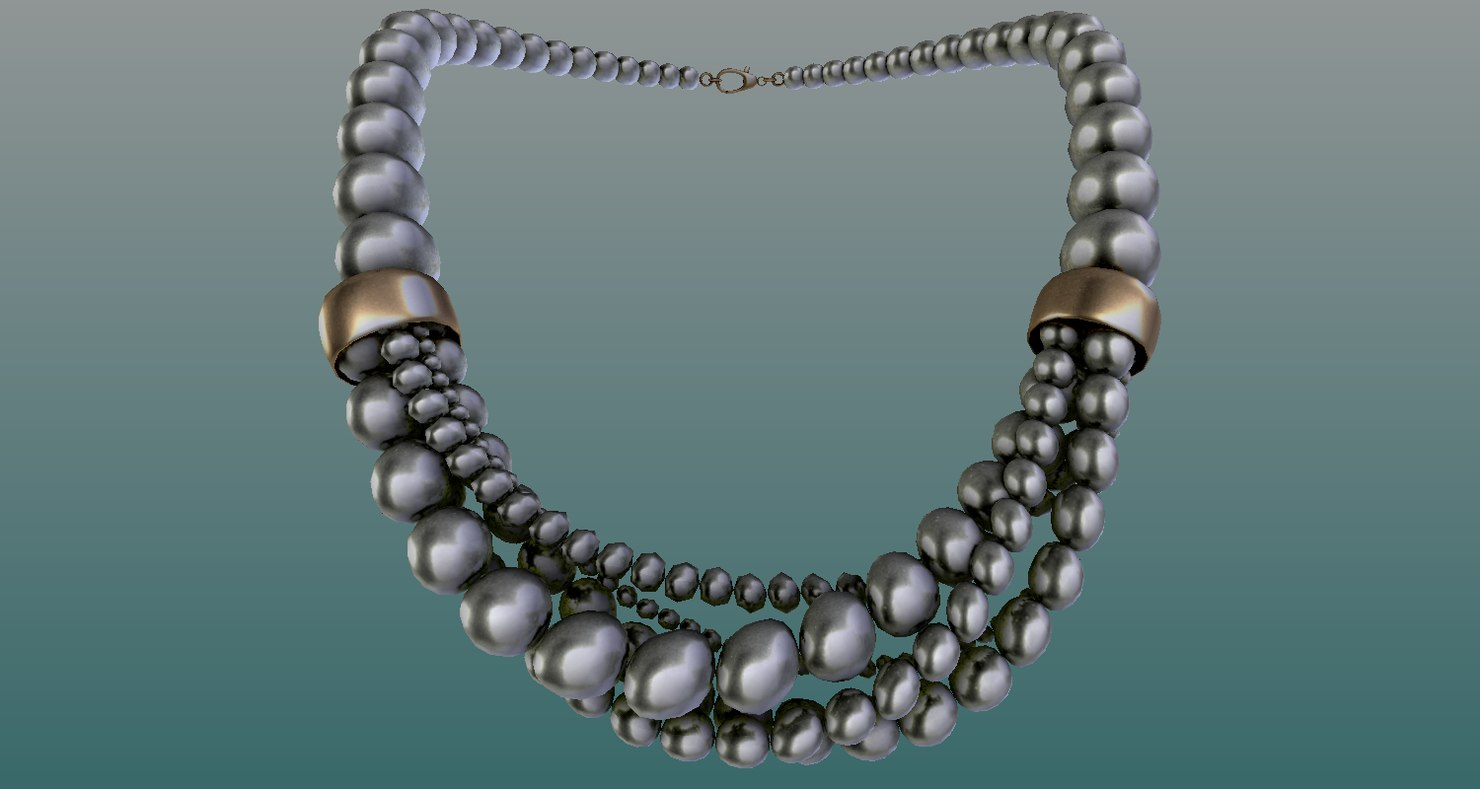 necklace model