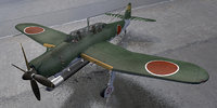3D model aichi b7a2 rjusei grace