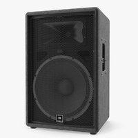 3D jbl passive pa speaker model