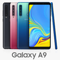 3D samsung galaxy a9 color