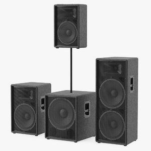 3D speaker generic model