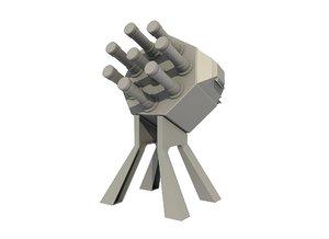 torpedo countermeasures 3D model