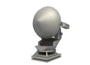 3D control radar stir