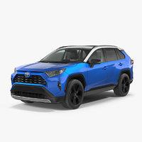 Toyota RAV4 2019 Rigged