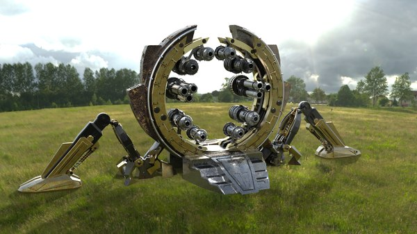 environment sci-fi model