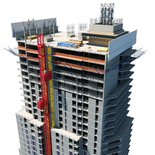 construction building 3D