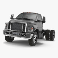 crew cab chassis truck model