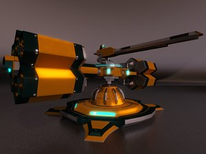 weapon turret 3D model