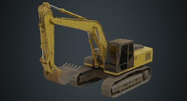 excavator 1b model