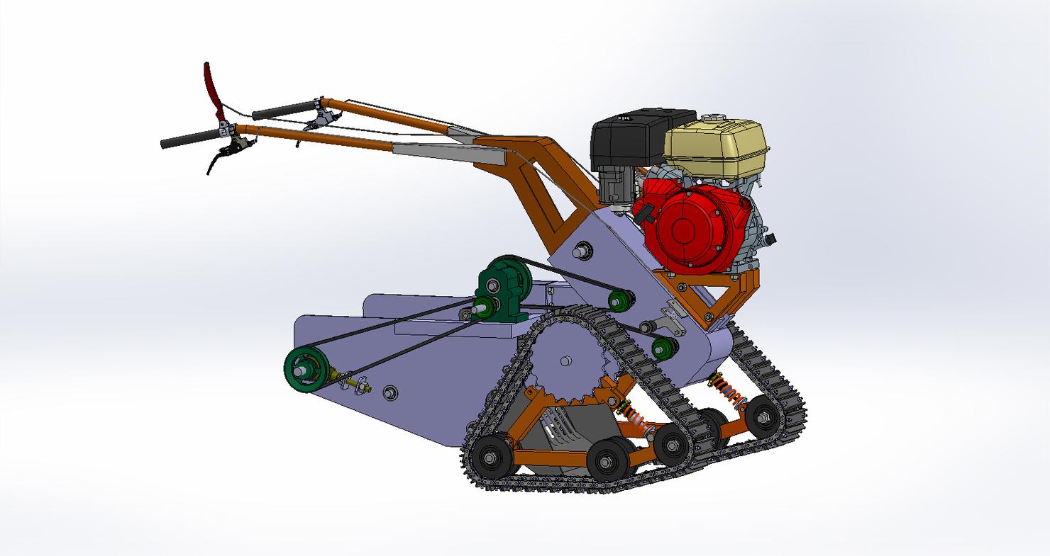 crop digger hand 3D model