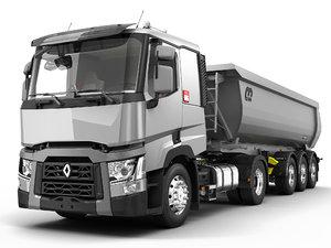 renault c truck 3D