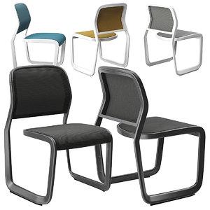 newson knoll chair 3D model
