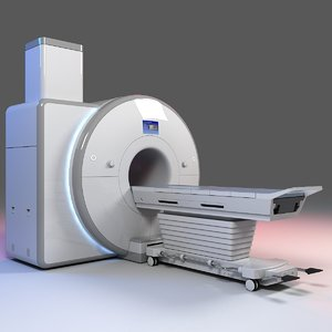 3D model ct scanner