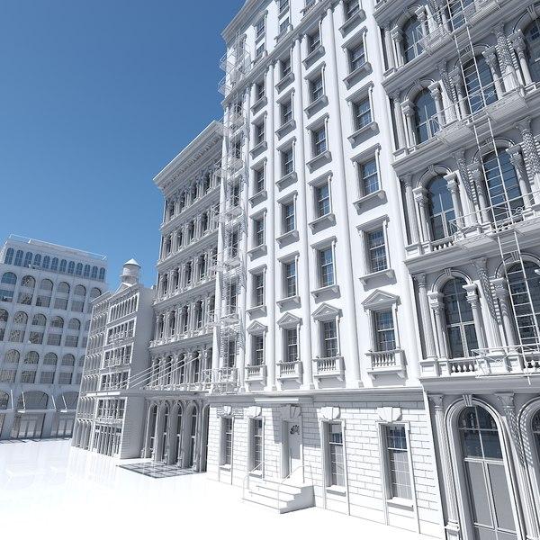 street buildings 3D