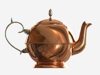 3D pot tea teapot
